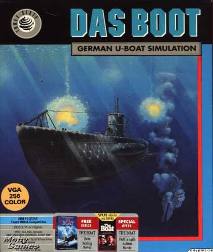 DOS Games - Das Boot: German U-Boat Simulation