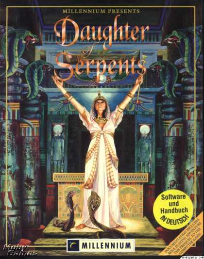 DOS Games - Daughter of Serpents