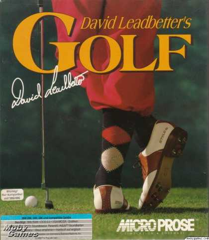 DOS Games - David Leadbetter's Greens