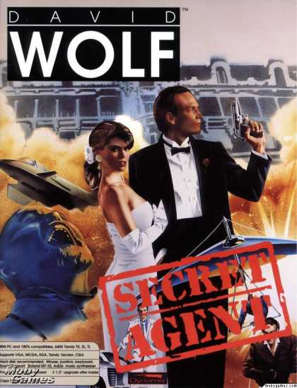 DOS Games - David Wolf: Secret Agent