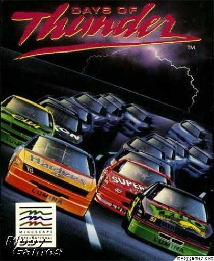 DOS Games - Days of Thunder