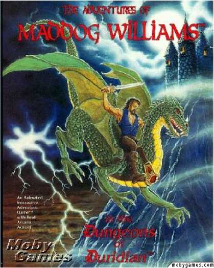 DOS Games - The Adventures of Maddog Williams in the Dungeons of Duridian