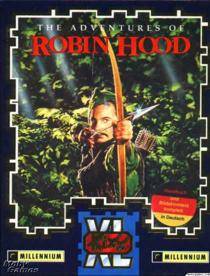 DOS Games - The Adventures of Robin Hood