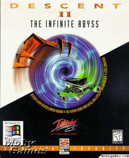 DOS Games - Descent II: The Infinite Abyss