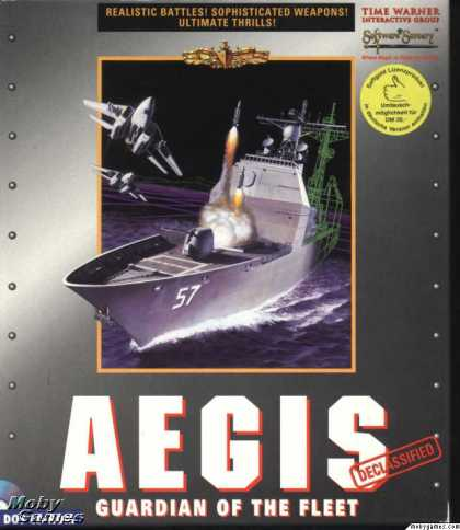 DOS Games - AEGIS: Guardian of the Fleet