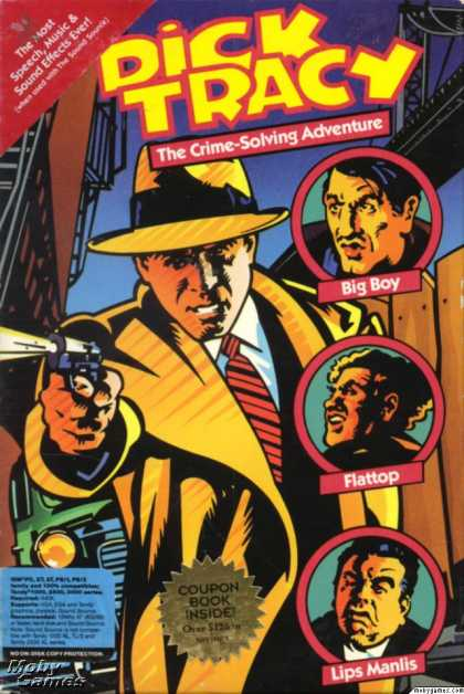 DOS Games - Dick Tracy: The Crime-Solving Adventure