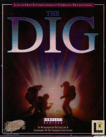 DOS Games - The Dig