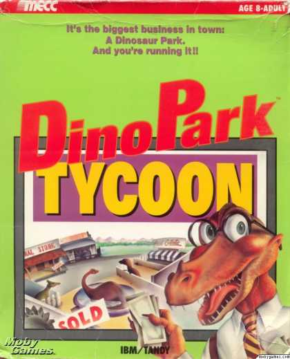 DOS Games - Dinopark Tycoon