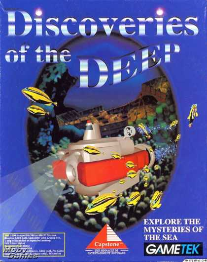 DOS Games - Discoveries of the Deep