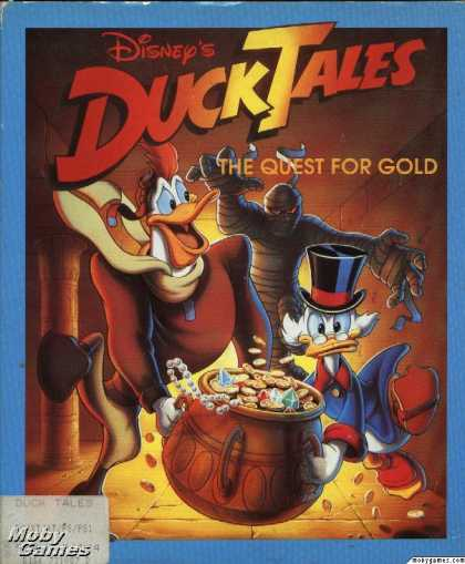 DOS Games - Disney's Duck Tales: The Quest for Gold
