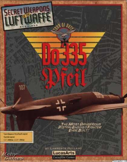 DOS Games - Do 335 Pfeil Tour of Duty