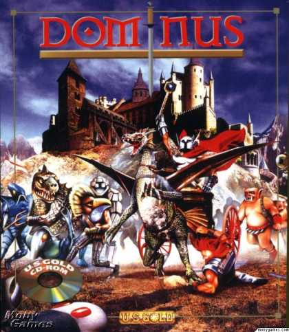 DOS Games - Dominus
