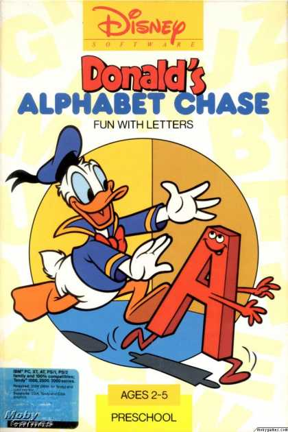 DOS Games - Donald's Alphabet Chase