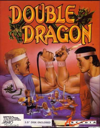 DOS Games - Double Dragon