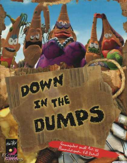 DOS Games - Down in the Dumps