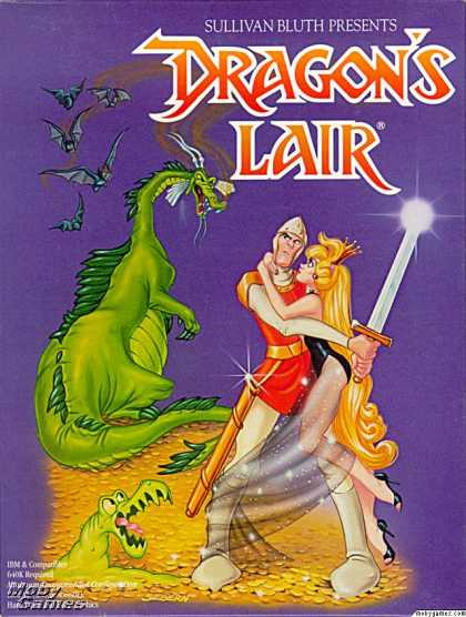 DOS Games - Dragon's Lair