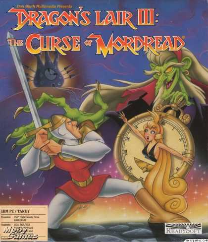 DOS Games - Dragon's Lair III: The Curse of Mordread