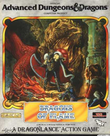 DOS Games - Dragons of Flame