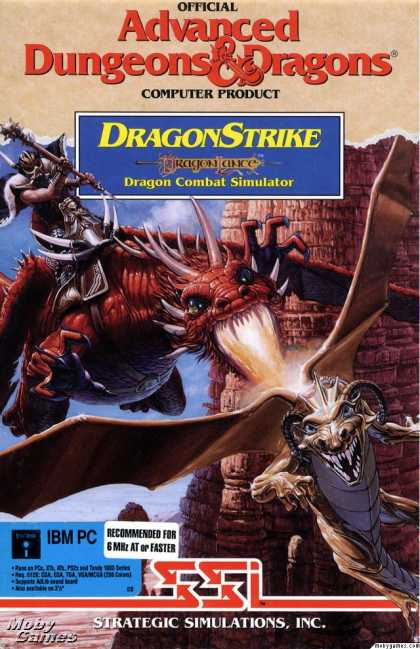 DOS Games - DragonStrike