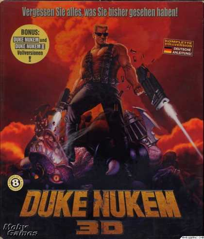 DOS Games - Duke Nukem 3D