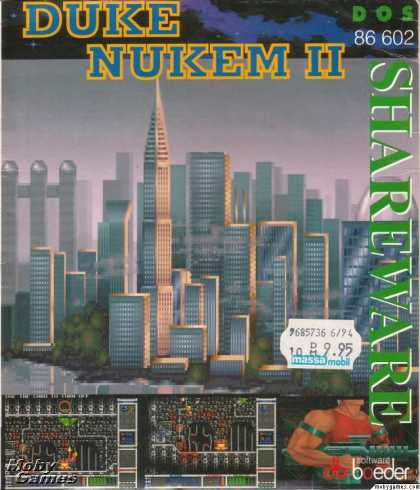 DOS Games - Duke Nukem II