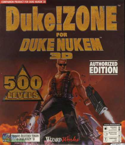 DOS Games - Duke!ZONE