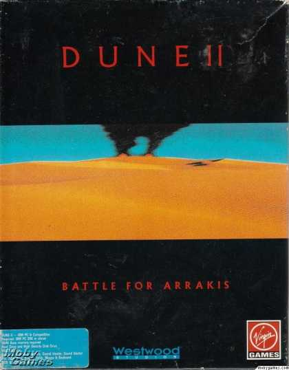 DOS Games - Dune II: The Building of a Dynasty