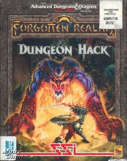 DOS Games - Dungeon Hack