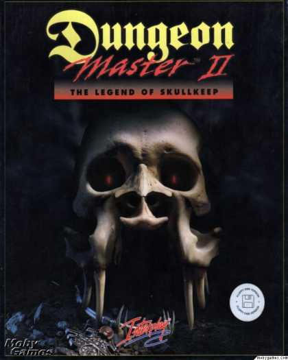 DOS Games - Dungeon Master II: The Legend of Skullkeep