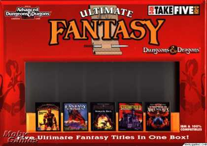 DOS Games - Dungeons & Dragons Ultimate Fantasy