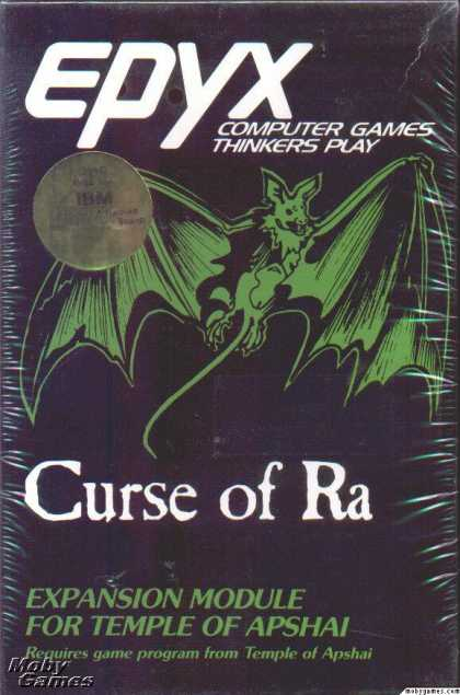 DOS Games - Dunjonquest: Curse of Ra