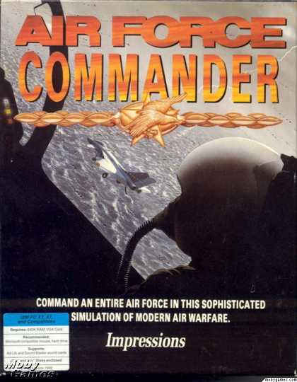 DOS Games - Air Force Commander