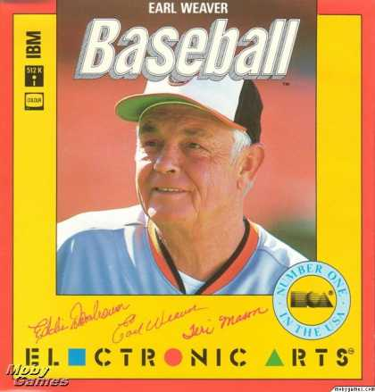 DOS Games - Earl Weaver Baseball