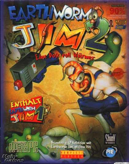 DOS Games - Earthworm Jim 2