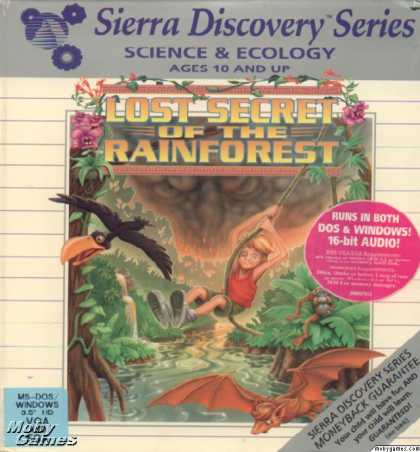 DOS Games - EcoQuest 2: Lost Secret of the Rainforest