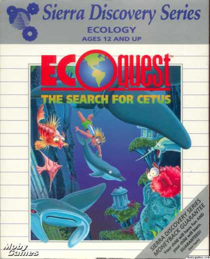 DOS Games - EcoQuest: The Search for Cetus