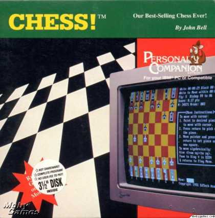 DOS Games - Ed Chess