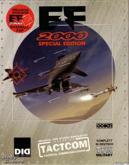 DOS Games - EF2000 Special Edition