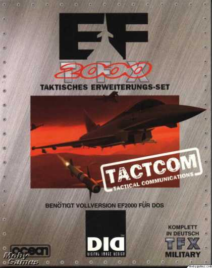 DOS Games - EF2000 TACTCOM