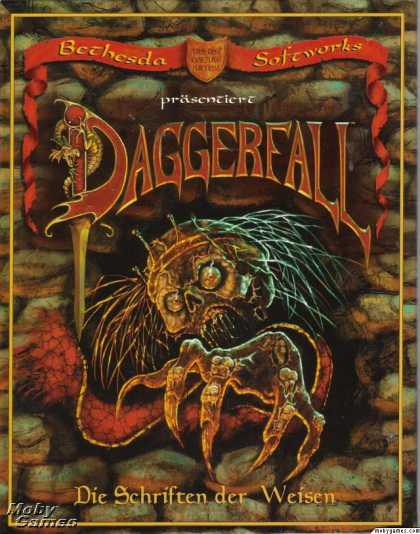 DOS Games - The Elder Scrolls: Daggerfall