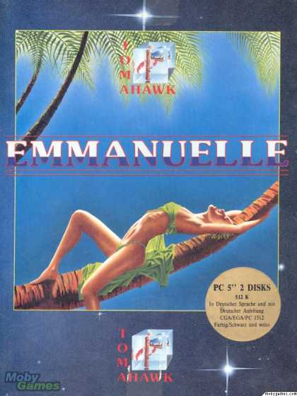 DOS Games - Emmanuelle: A Game of Eroticism
