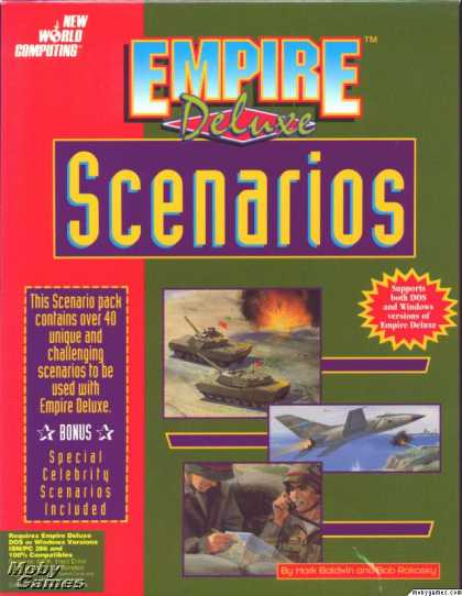 DOS Games - Empire Deluxe Scenarios