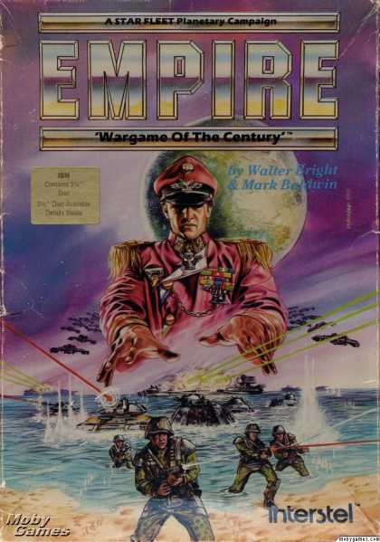 DOS Games - Empire: Wargame of the Century