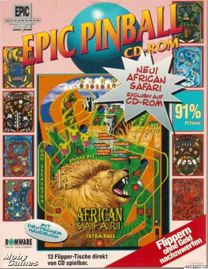 DOS Games - Epic Pinball