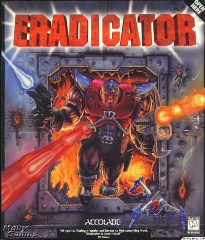 DOS Games - Eradicator