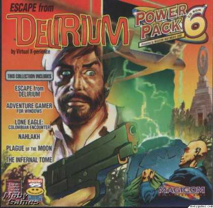 DOS Games - Escape from Delirium