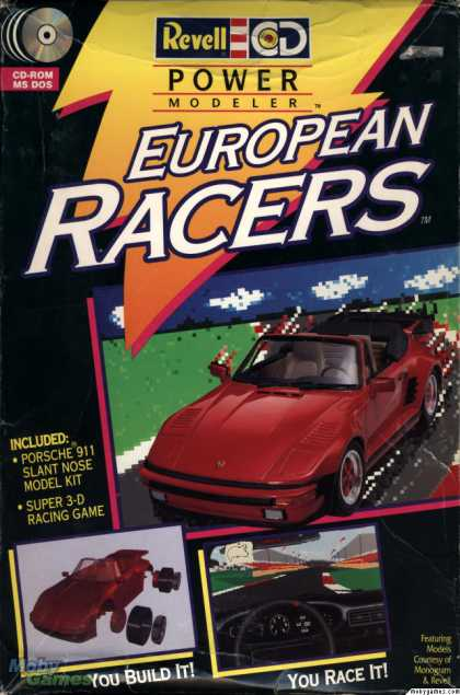 DOS Games - European Racers