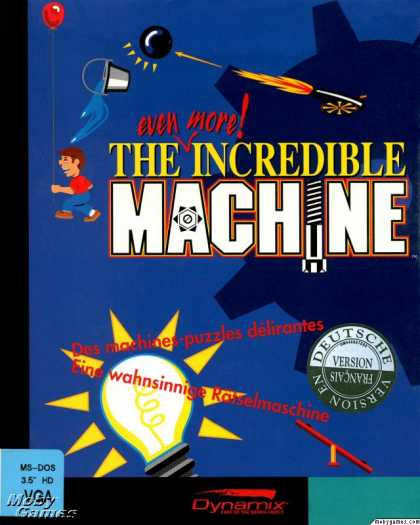 DOS Games - The Even More Incredible Machine