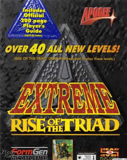 DOS Games - Extreme Rise of the Triad
