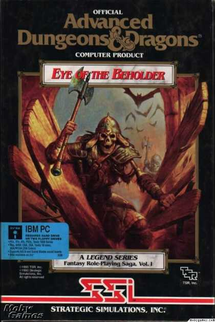 DOS Games - Eye of the Beholder